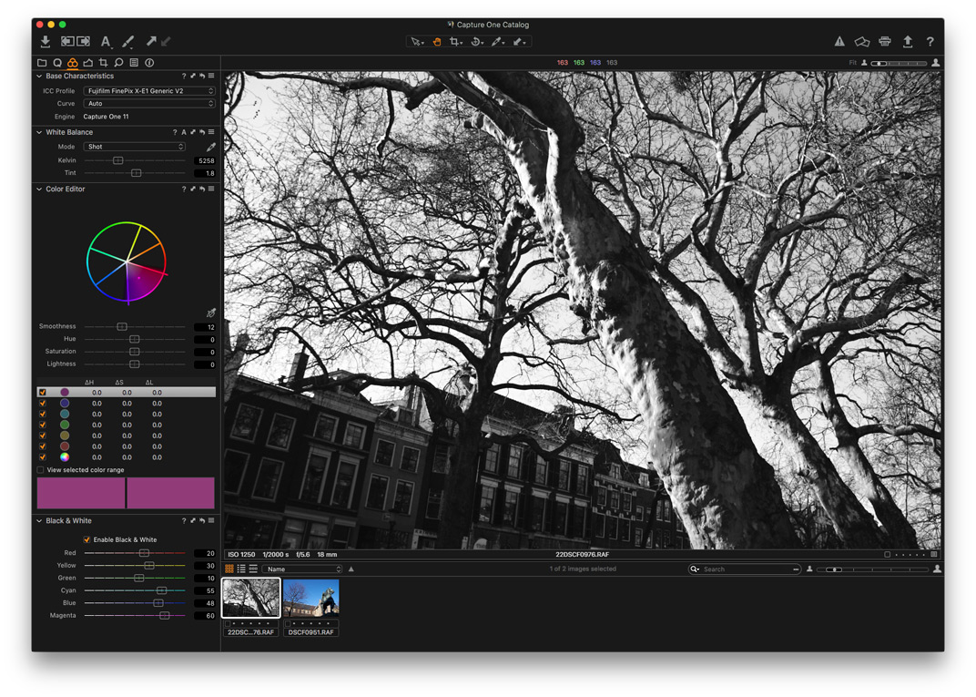 Capture One Fujifilm Express and Pro  What to Choose for