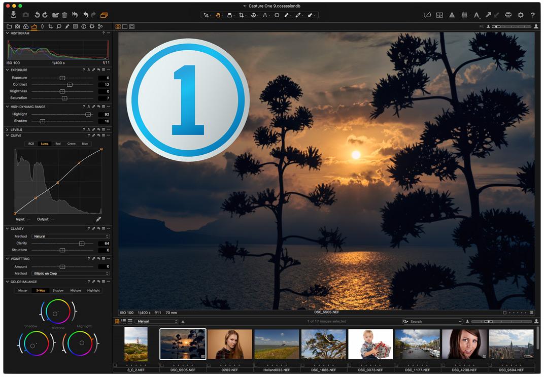 Capture One 9 new design